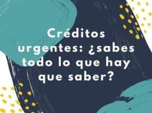 Créditos urgentes
